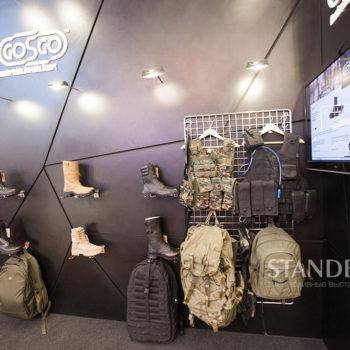 выставочный стенд компании MKU на форуме Армия 2016